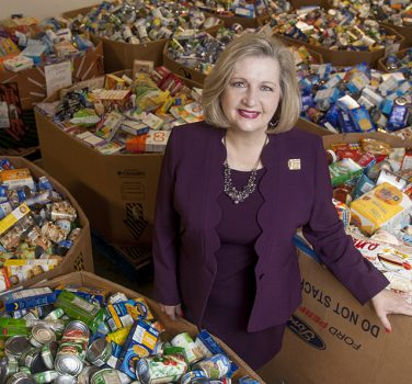 Trisha Cunningham, CEO of North Texas Food Bank