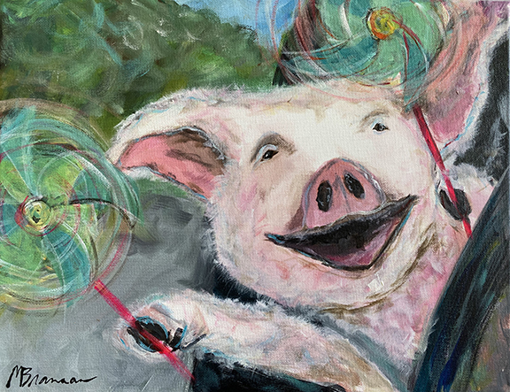 Piggie and the Pinwheels