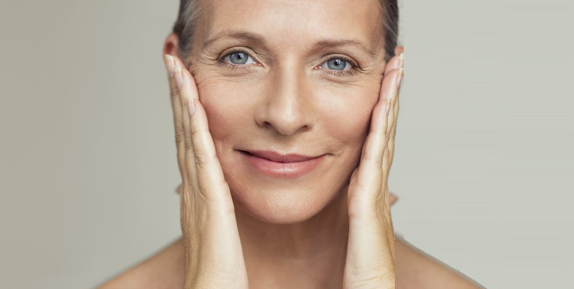 50+ Woman with Youthful Skin
